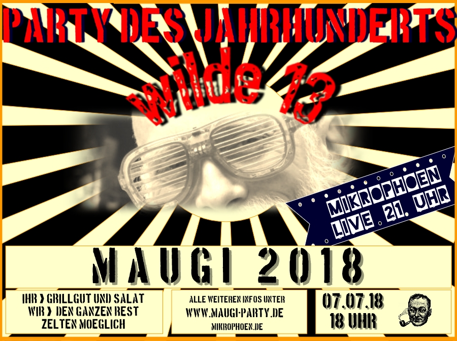 Maugi Party 2018 Flyer